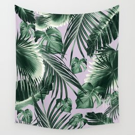 Tropical Jungle Leaves Dream #8 #tropical #decor #art #society6 Wall Tapestry