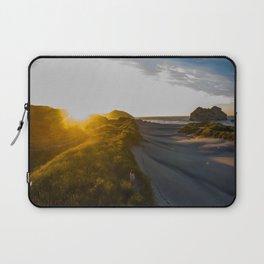 wharariki beach colorful sunset new zealand Laptop Sleeve