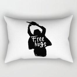 Chainsaw massacre Free hugs Rectangular Pillow