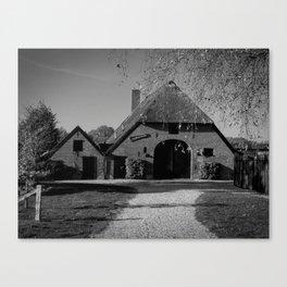 Dutch Country Farm Canvas Print
