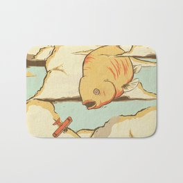 Sky Diving Bath Mat