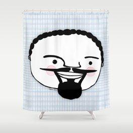 Magnum PI  Shower Curtain