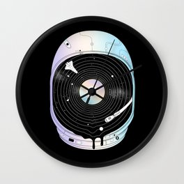 In the Presence of a Deafening Silence Wall Clock