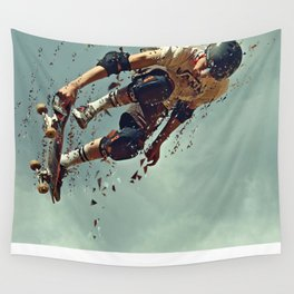 skate board 6 Wall Tapestry