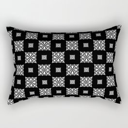 Callisto II (White) Rectangular Pillow