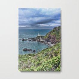 Hartland Point Devon Metal Print