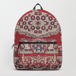 Traditional Glorious red rug Backpack