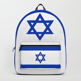 Flag of the State of Israel - High Quality Image Backpack