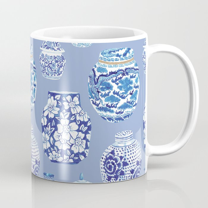 Chinoiserie Ginger Jar Collection No.6 Coffee Mug