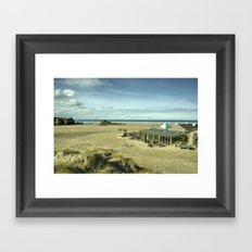 The pub on the beach  Framed Art Print