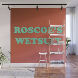 Roscoe's Wetsuit Wall Mural