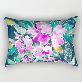 SUP DAWG Dogwood Floral Rectangular Pillow