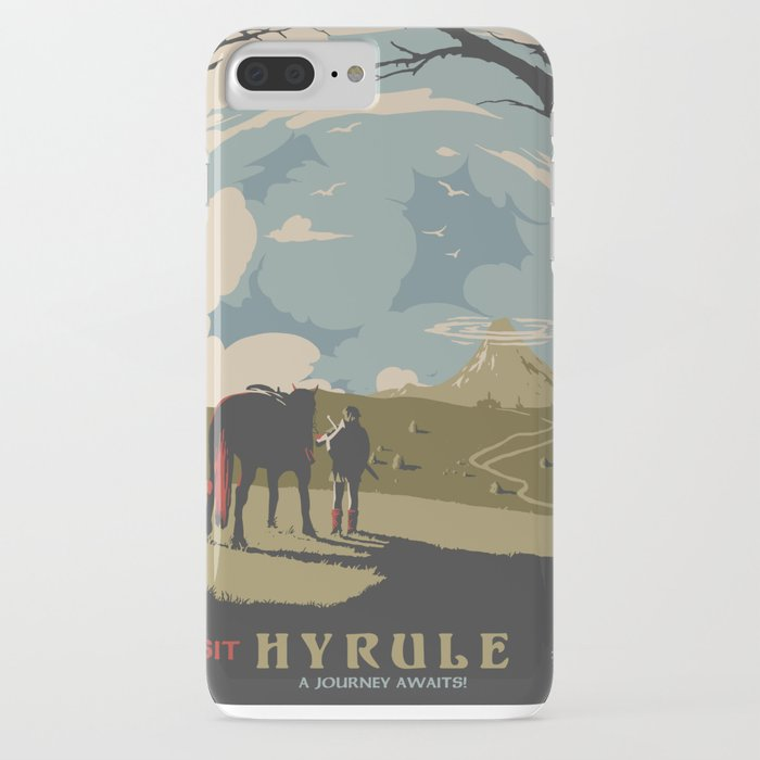 visit hyrule iphone case