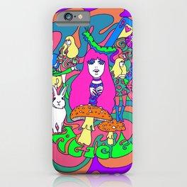Alice in Acidland iPhone Case