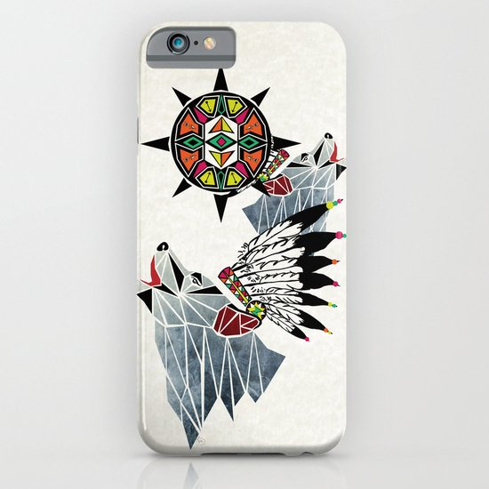 wolf king iPhone & iPod Case