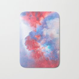 Stay with me between the Clouds and your Dreams Bath Mat