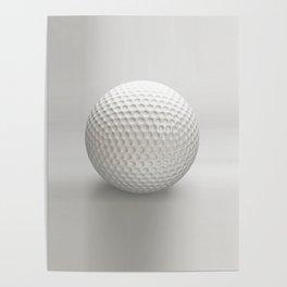 Novelty Golf Ball Poster