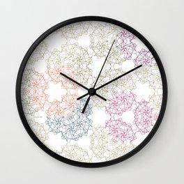 FlowerNet Wall Clock