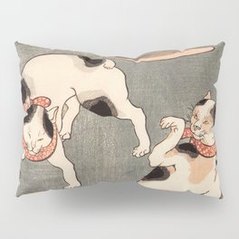 Four cats in different poses Pillow Sham