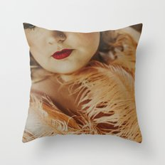Burlesque Throw Pillow