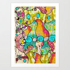 Licious Art Print