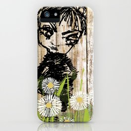 little boy black iPhone Case