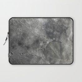 craters on the moon Laptop Sleeve
