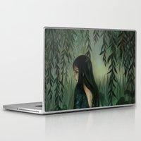siren Laptop & iPad Skins featuring Siren by Olivia Chin Mueller