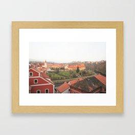Krumlov V Framed Art Print