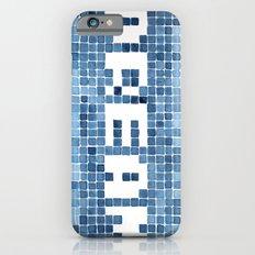 Dream watercolor mosaic typography iPhone 6s Slim Case