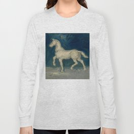 "Vincent van Gogh ""Plaster Statuette of a Horse"" Long Sleeve T-shirt"