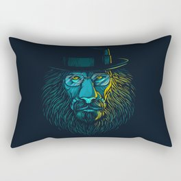 All Hail the King Rectangular Pillow