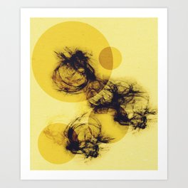 Minimalist Geometric Art Art Print