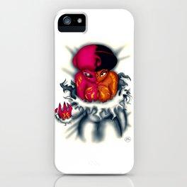 Half Being Hatching iPhone Case