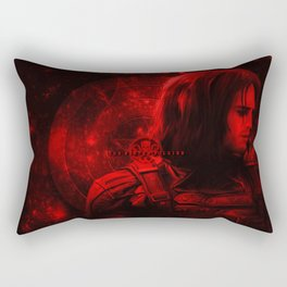 The Winter Soldier (Bucky Barnes) Hydra Print Rectangular Pillow