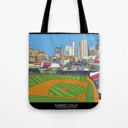 Minnesota Twins Target Field Tote Bag