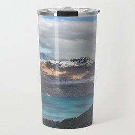 Island clouds Travel Mug