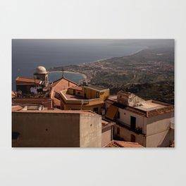 Taormina 2 Canvas Print