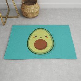 Cute Kawaii Avocado Rug