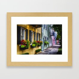 Southern Charm of Charleston Framed Art Print