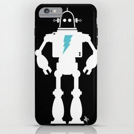 Man Bot iPhone Case