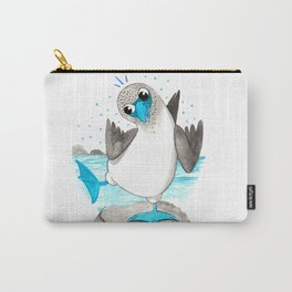 Blue Footed Nursery Illustration Carry-All Pouch