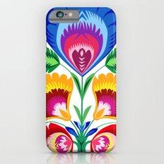 folk flower iPhone 6 Slim Case