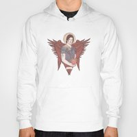sam winchester Hoodies featuring Angel of Compassion (Sam Winchester) by KARADIN