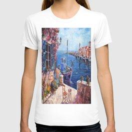 Morning at the Wharf T-shirt