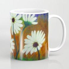 White daisies-Abstract Mug