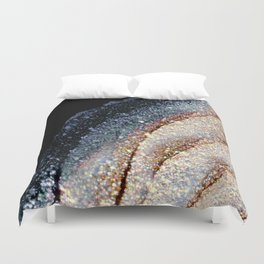 FLAWLESS GREY & GOLD Duvet Cover