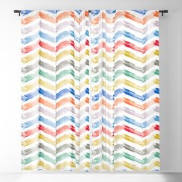Candy Stacks Blackout Curtain