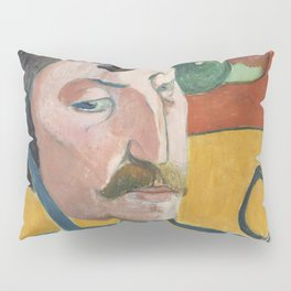 Self-Portrait (1889) by Paul Gauguin Pillow Sham