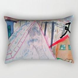 Halte Dich Fest Rectangular Pillow